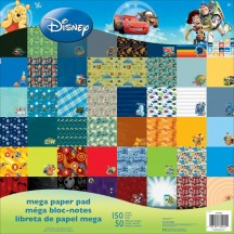 "Sandylion Disney Boy 12""x12"" Mega Paper Pad 150 sheets"