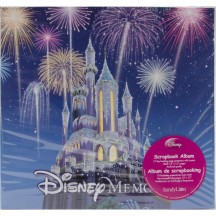 "Sandylion Disney Memories 12""x12"" Post Bound Scrapbooking Album"