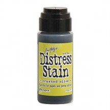 Ranger Tim Holtz Distress Stain - Crushed Olive