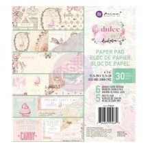 """Prima Frank Garcia Dulce 6""""x6"""" Double-Sided Paper Pad 30 sheets 995669"""