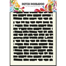 Dutch Doobadoo Bricks A5 Stencil Mask  470.715.002