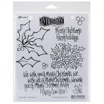 Dylusions Holly Days Cling Mount Sets Collection from Ranger - DYR44949