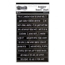 Ranger Dylusions Bigger Back Chat Stickers by Dyan Reaveley DYA65449