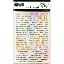 Ranger Dylusions Creative Dyary Back Chat Stickers by Dyan Reaveley DYE58564