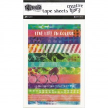 Ranger Dylusions Creative Dyary Tape Sheets by Dyan Reaveley DYE58571