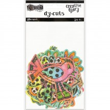 Ranger Dylusions Creative Dyary Dy Cuts Coloured Birds & Flowers by Dyan Reaveley DYE58717