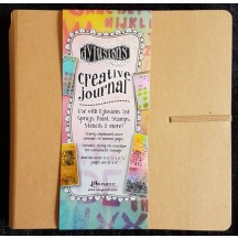 """Ranger Dylusions Square Standard 8""""x8"""" Creative Journal - DYJ38429"""