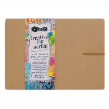 Ranger Dylusions Creative Flip Journal Large Kraft by Dyan Reaveley - DYJ53583