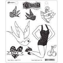 Dylusions Cling Mount Sets Collection from Ranger - Jay's Jollies DYR44512