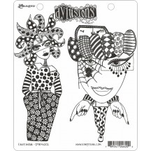Dylusions Cling Mount Sets Collection from Ranger - Endeavour DYR46202