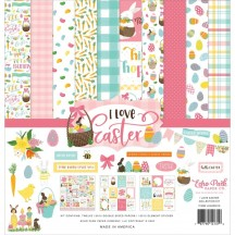 "Echo Park I Love Easter 12""x12"" Collection Kit LEA205016"