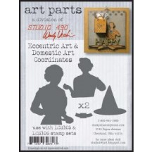 Studio 490 by Wendy Vecchi Art Parts from Stampers Anonymous - Eccentric Art & Domestic Art Coordinates