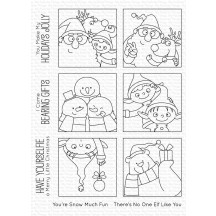 My Favorite Things Birdie Brown Christmas sELFies Clear Stamps BB-084