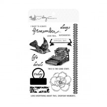 Teresa Collins Every Day Moments Clear Stamp Set