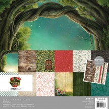 "Kaisercraft Enchanted 12""x12"" Paper Pack PK608"