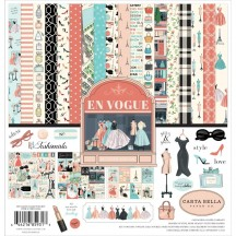 "Carta Bella En Vogue 12""x12"" Collection Kit EV103016"
