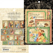 Graphic 45 Little Women Journaling & Ephemera Cards 4501663