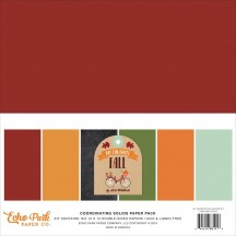 "Echo Park My Favorite Fall 12""x12"" Solids Paper Kit MFF187015"