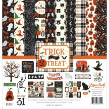 "Echo Park Trick or Treat Halloween 12""x12"" Collection Kit TT186016"