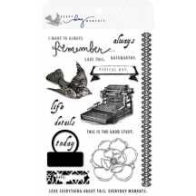 Teresa Collins Clear Stamp Set - Every Day Moments