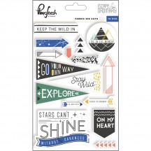 Pinkfresh Studio Escape the Ordinary Fabric Die-Cuts PFRC300517