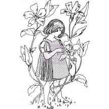 Prima Marketing Fairy Rhymes #1 Clear Stamp 950606