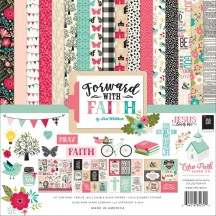 "Echo Park Forward with Faith 12""x12"" Collection Kit WF183016"