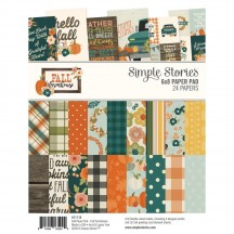 "Simple Stories Fall Farmhouse 6""x8"" Double-Sided Paper Pad 11118"
