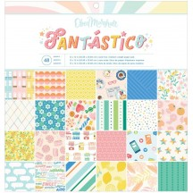"""American Crafts Obed Marshall Fantastico 12""""x12"""" Paper Pad 34008111"""