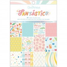"""American Crafts Obed Marshall Fantastico 6""""x8"""" Paper Pad 34008112"""