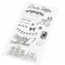 Crate Paper Busy Sidewalks Christmas Clear Stamps 34010602