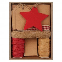 doCrafts Create Christmas Felt and Paper Gift Tag Kit Red PMA 157934