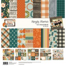 "Simple Stories Fall Farmhouse 12""x12"" Collection Kit 11100"