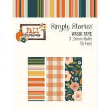 Simple Stories Fall Farmhouse Washi Tape 3 Roll Pack 11125