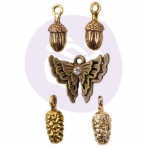 Prima Frank Garcia Autumn Sunset Metal Charms 995577