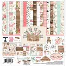 "Carta Bella Farmhouse Market 12""x12"" Collection Kit FAR113016"