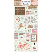 Carta Bella Farmhouse Market Self Adhesive Chipboard Accents Stickers FAR113021