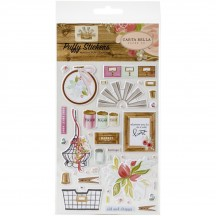 Carta Bella Farmhouse Market Puffy Icon Stickers FAR113066