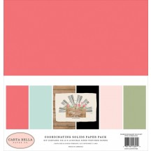 "Carta Bella Farmhouse Market 12""x12"" Solids Paper Kit FAR113015"
