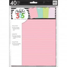 Me & My Big Ideas Create 365 CLASSIC Happy Planner Colored Fill Paper FIL-09