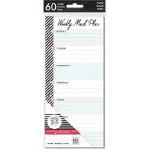 Me & My Big Ideas Create 365 CLASSIC Happy Planner Half Sheet Meal Planning FIL-24