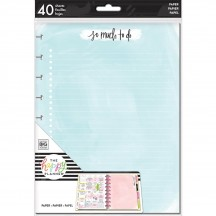 Me & My Big Ideas Create 365 CLASSIC Happy Planner Student So Much To Do Fill Paper FIL-32