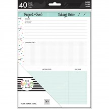 Me & My Big Ideas Create 365 CLASSIC Happy Planner Project Fill Paper FIL-37