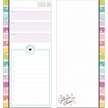 Me & My Big Ideas CLASSIC Happy Planner Half Sheet Planner Babe Focus Fill Paper FIL-96X-4036