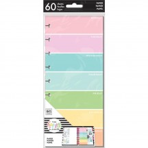 Me & My Big Ideas Create 365 CLASSIC Happy Planner Half Sheet Rainbow Days FIL-74