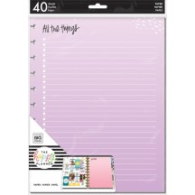 Me & My Big Ideas Create 365 BIG Happy Planner Colored Fill Paper FILB-14