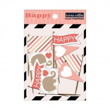Teresa Collins You Are My Happy Flag Toppers YMH118