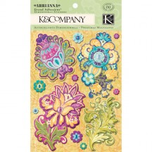 K&Co Abrianna Floral Grand Adhesions