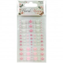 Dovecraft Floral Muse Individual Adhesive Pearls DCDOT009