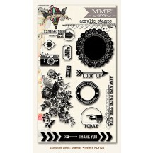 My Mind's Eye Find Your Wings and Fly - Sky's The Limit Clear Stamp Set FLY123